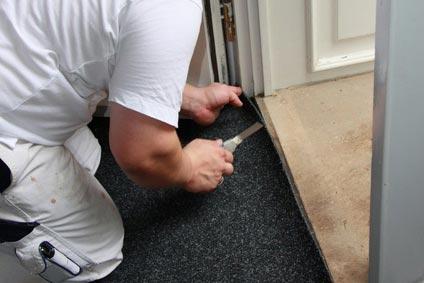 Betriebshaftpflicht Bodenleger Teppich