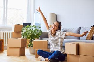 Hausratversicherung bei Umzug